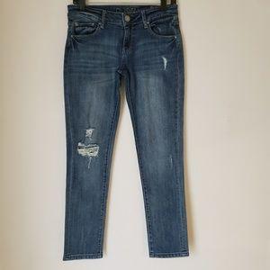 DL1961 | Riley Boyfriend distressed denim jeans